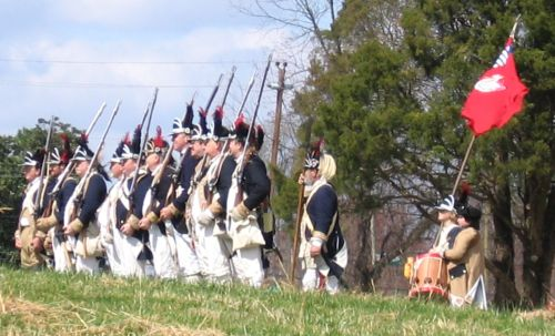 Guilford Courthouse reenactment 2007